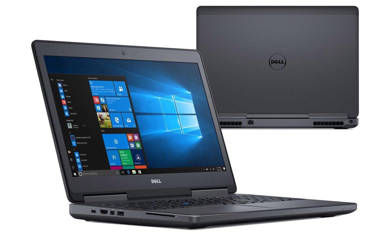 Dell Precision 7520 Złącza, Swobodne korzystanie z peryferiów