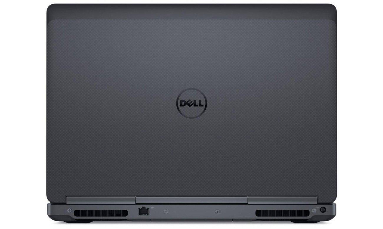 Dell Precision 7520 Doskonały komfort i chłodzenie