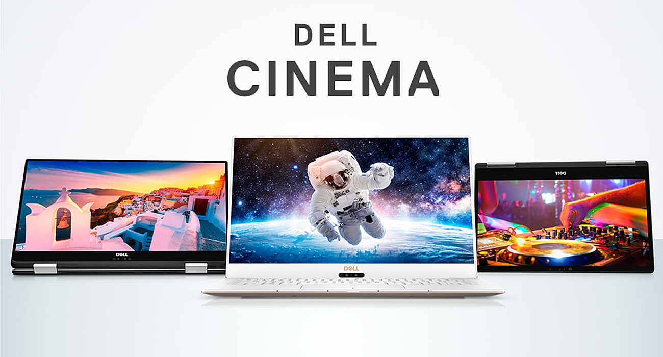 Ultrabook Dell XPS 13 Technologia Dell Cinema