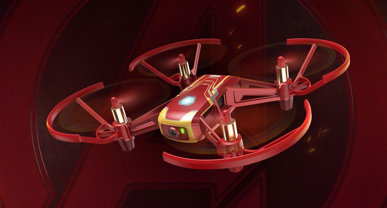 Dron DJI Tello Edycja Iron Man