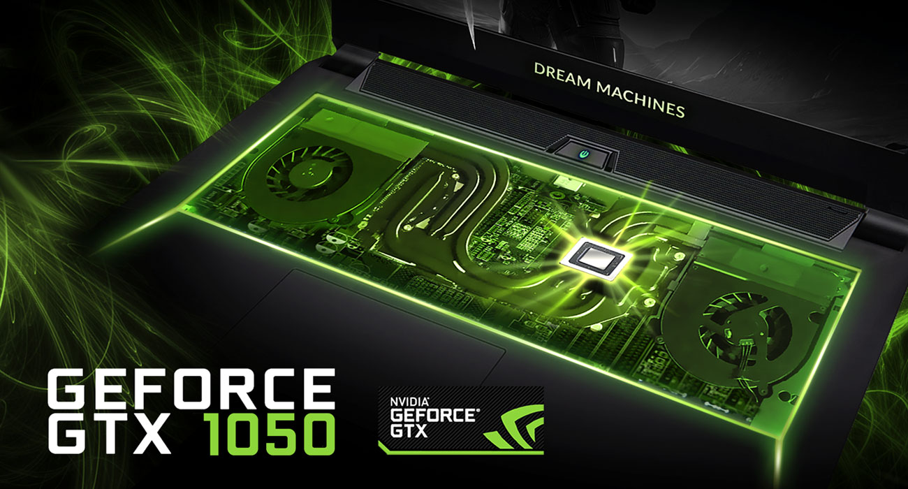 Dream Machines G1050-17PL20 GeForce GTX 1050