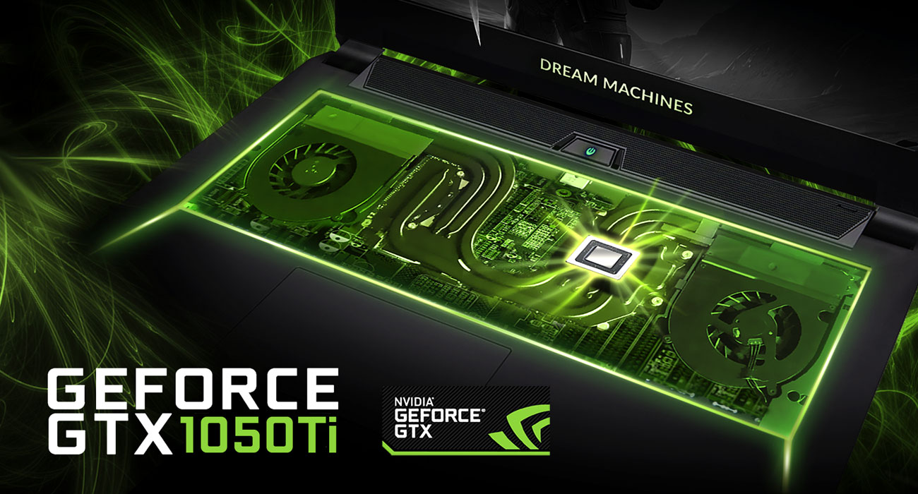 Dream Machines G1050Ti-14PL20 GeForce GTX 1050Ti