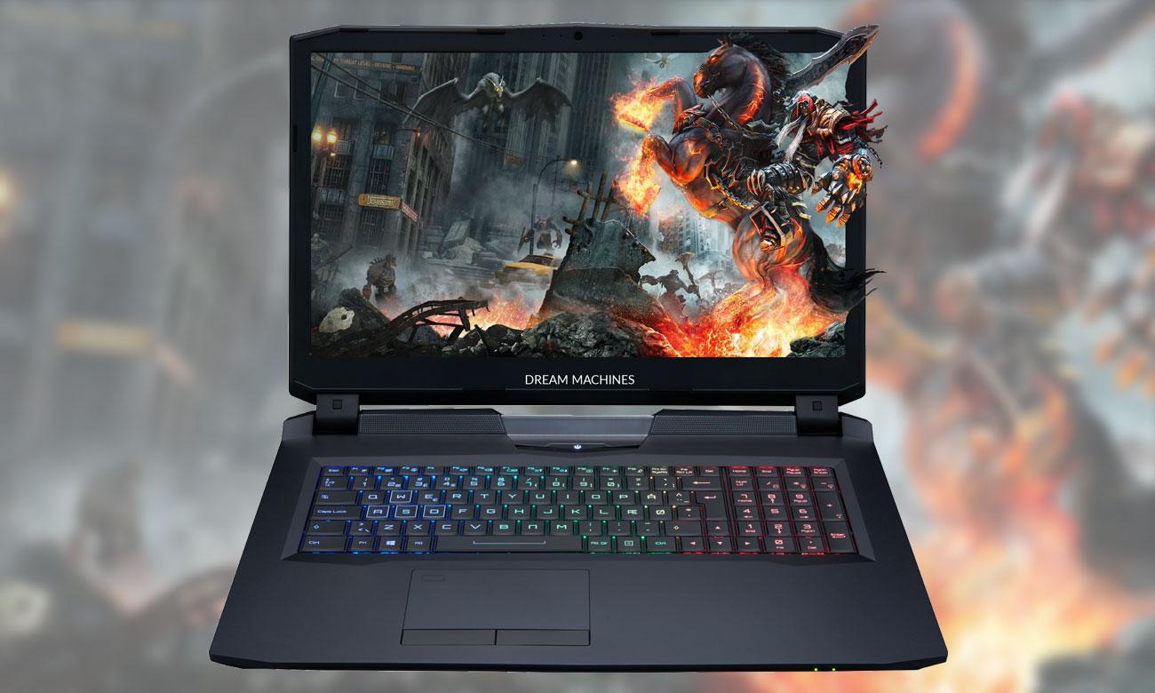 Dream Machines X1060-17PL32 Laptop stworzony dla graczy
