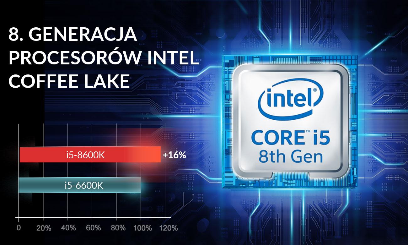 Dream Machines X1080-17PL27 Procesor Intel Core 5-8600K
