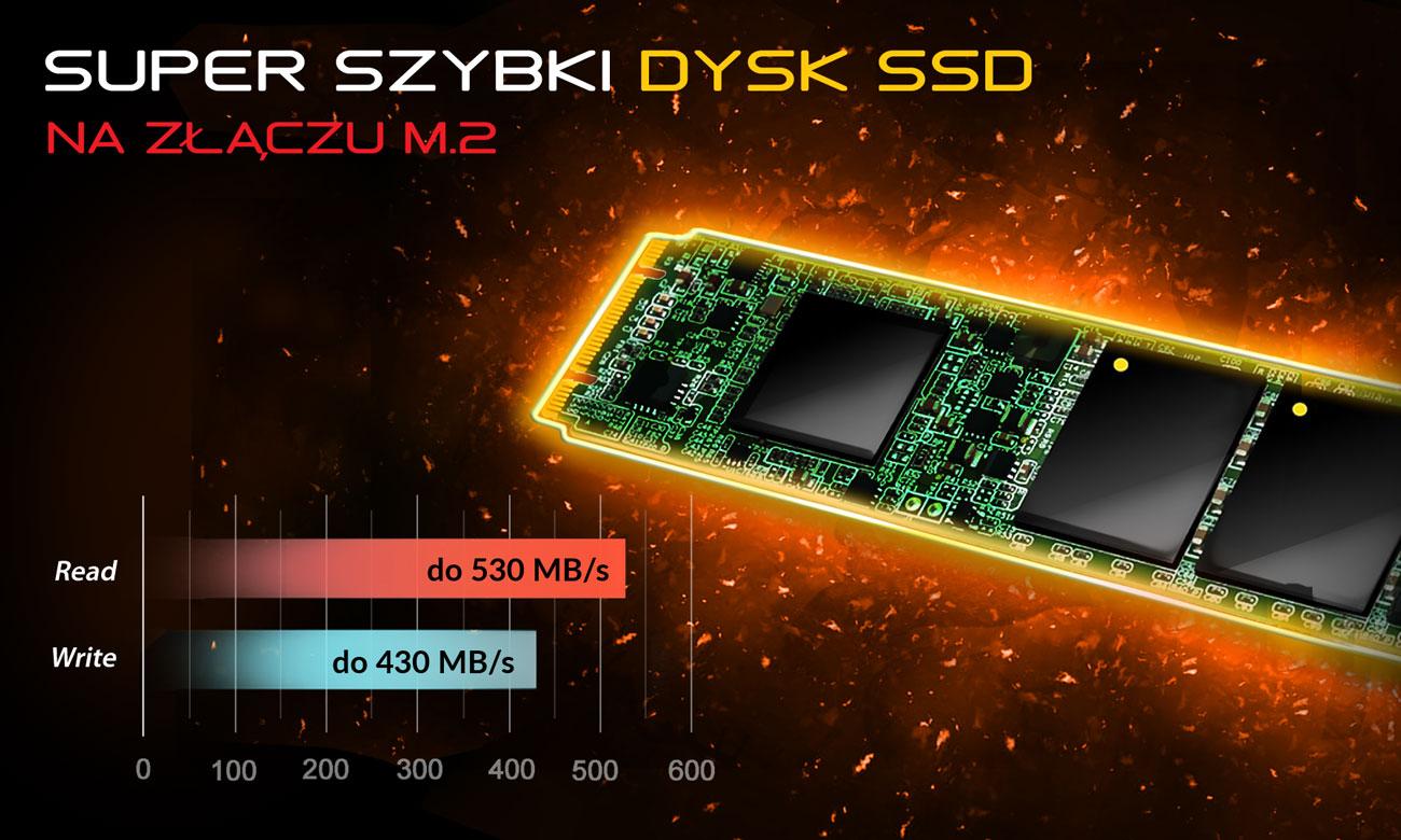 Dream Machines X1080-17PL27 Dysk SSD na złączu M.2
