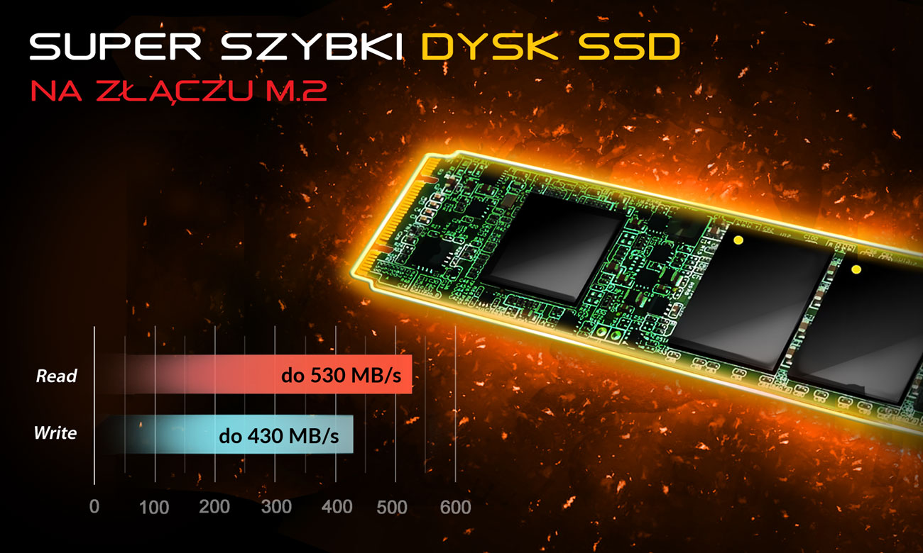 Dream Machines X1070-17PL33 Dysk SSD na złączu M.2