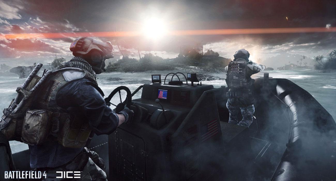 Battlefield 4 Atak z wody