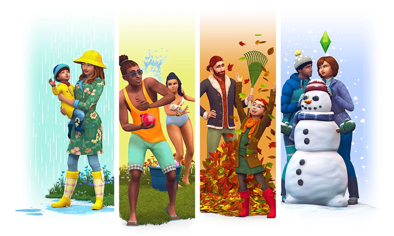 The Sims 4 - Cztery pory roku