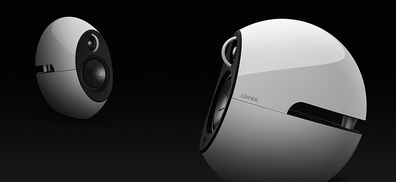 Edifier 2.0 Luna Eclipse E25 Bluetooth Wysoka jakość dźwięku