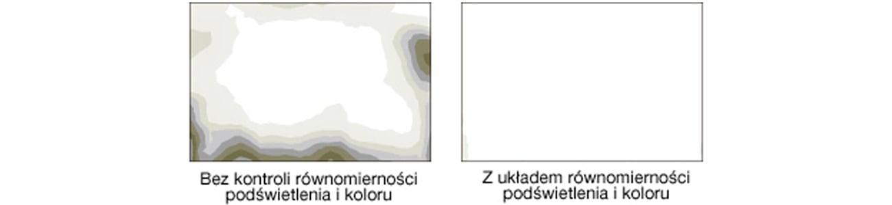 Eizo CG2420-BK Jednolity obraz na całej powierzchni