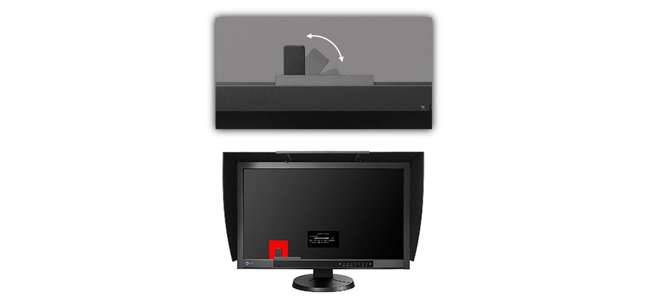 Eizo CG277-BK Wbudowany sensor do kalibracji