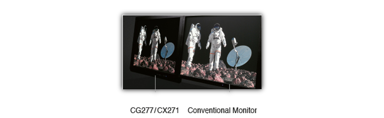 Eizo CG277-BK Technologia 3D LUT