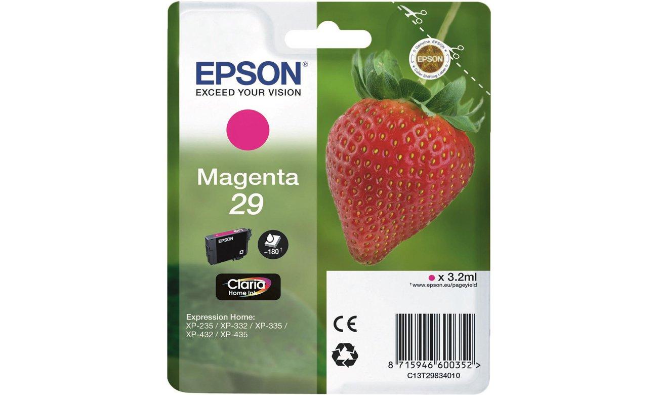 Tusz Epson 29 Magneta