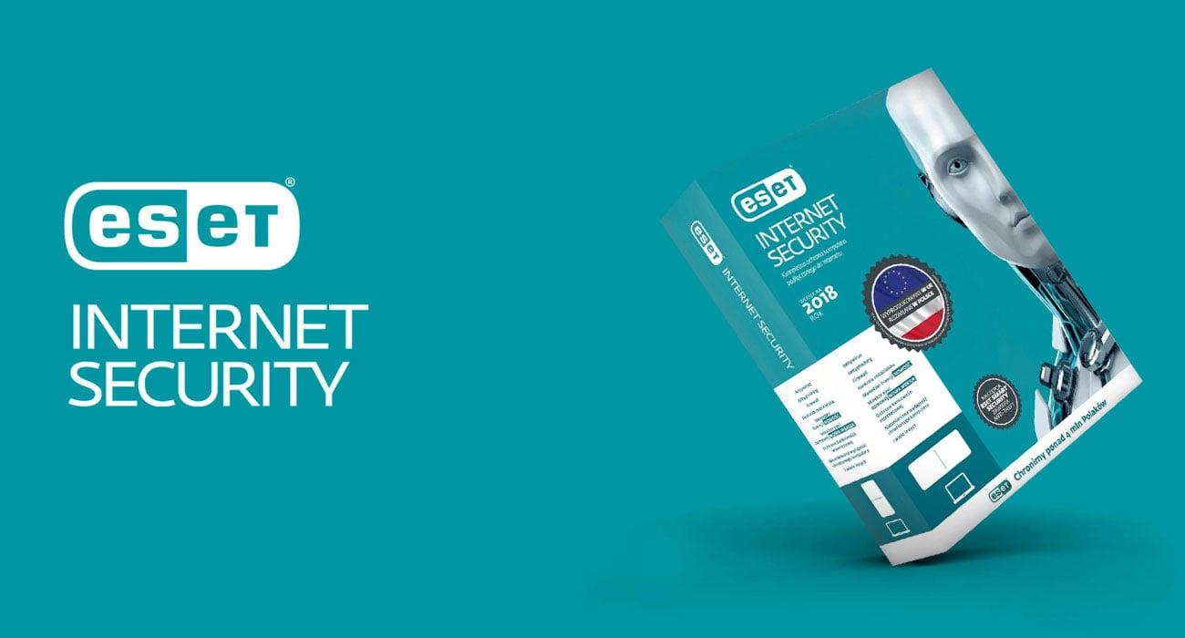 ESET Internet Security 2018 Skuteczna ochrona podczas korzystania z Internetu