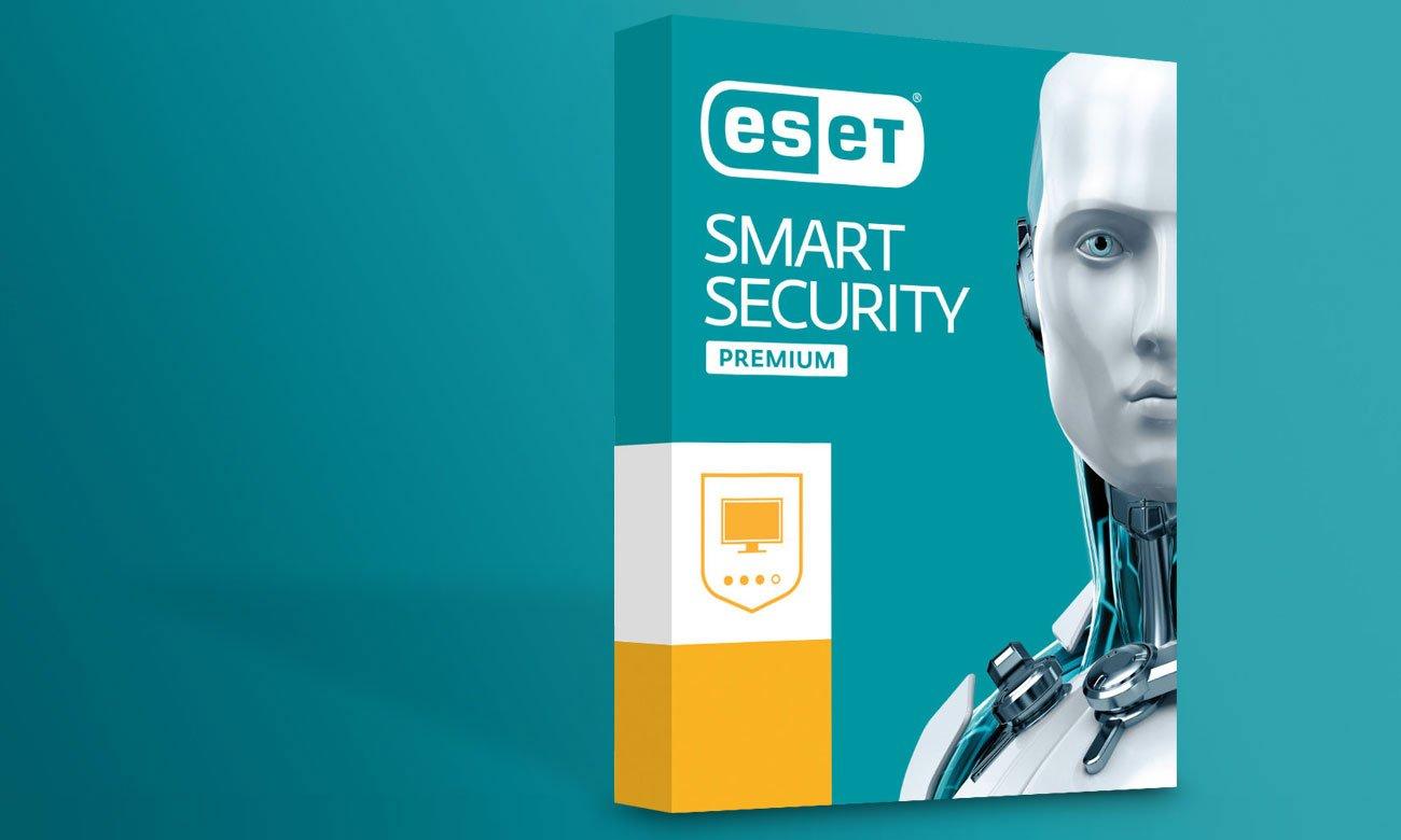 Eset Smart Security Premium Zabezpieczenie klasy premium dla systemu Windows