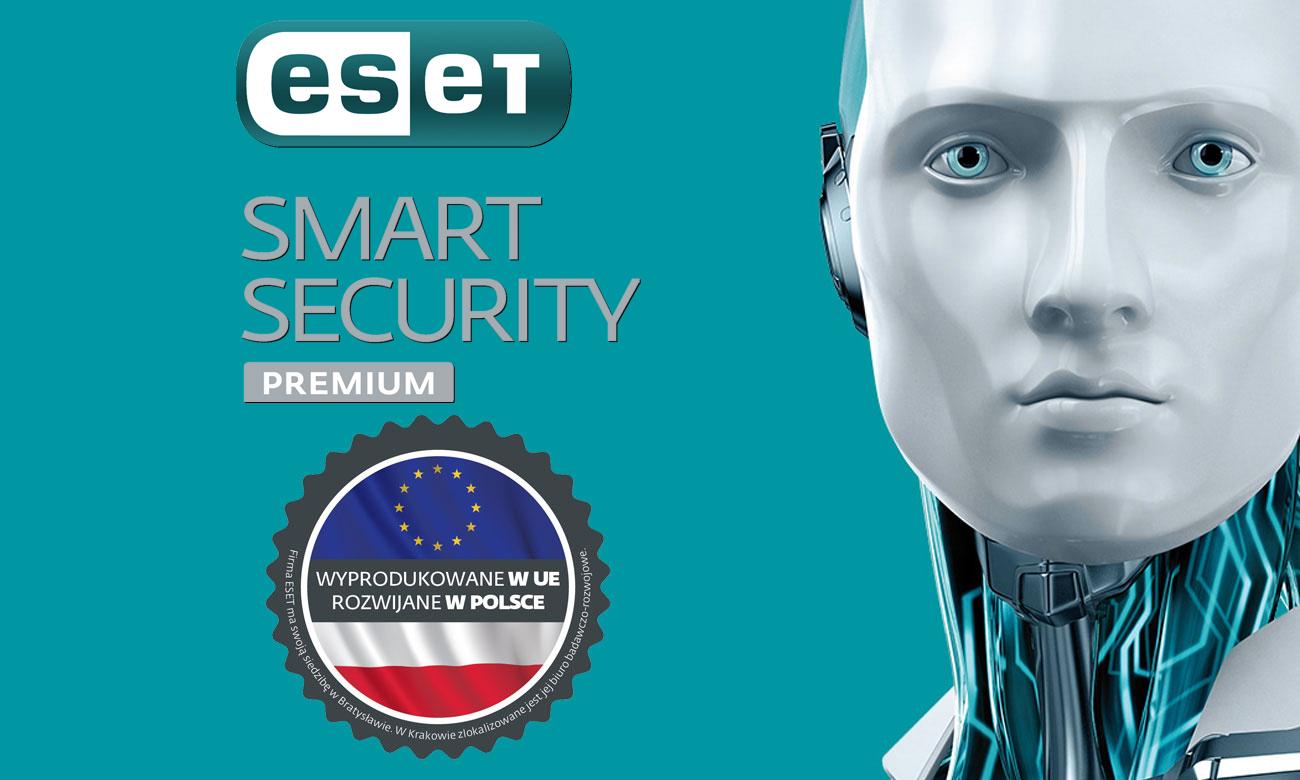Eset Smart Security Premium Całkowita ochrona bez wpływu na wydajność