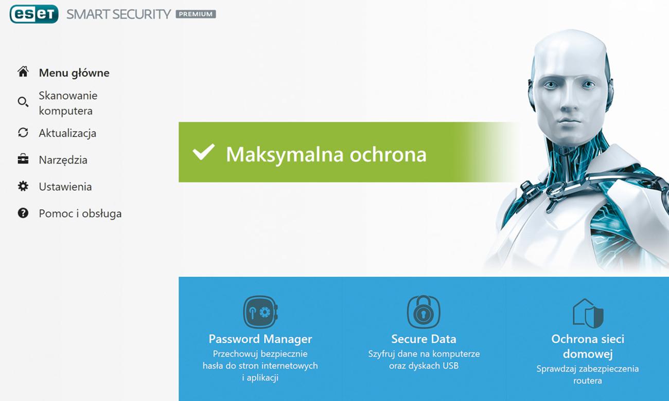Eset Smart Security Premium Przyjazny interfejs użytkownika