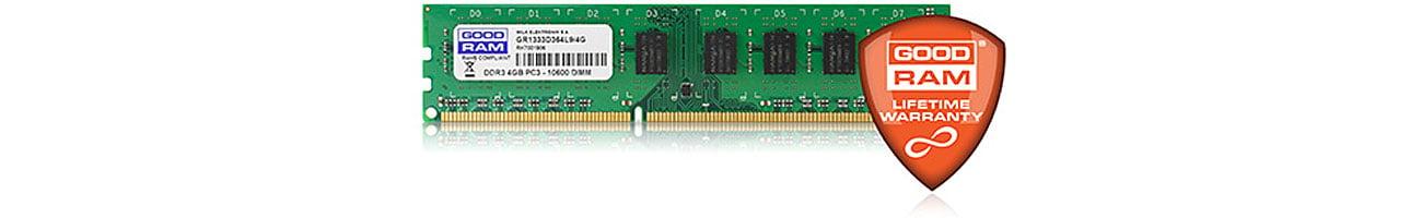 Pamięć RAM DDR3 GOODRAM CL11 gwarancja