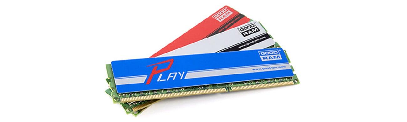 GOODRAM Play Jakość modułów pamięci GOODRAM