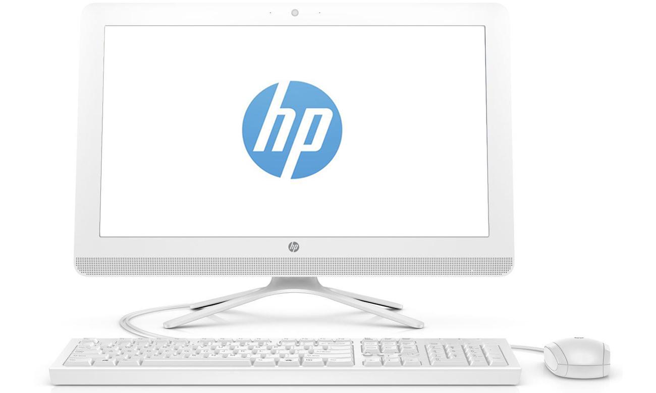 HP All-in-One - 22-b009nw Szeroki kąt widzenia i żywe kolory na matowym ekranie Full HD