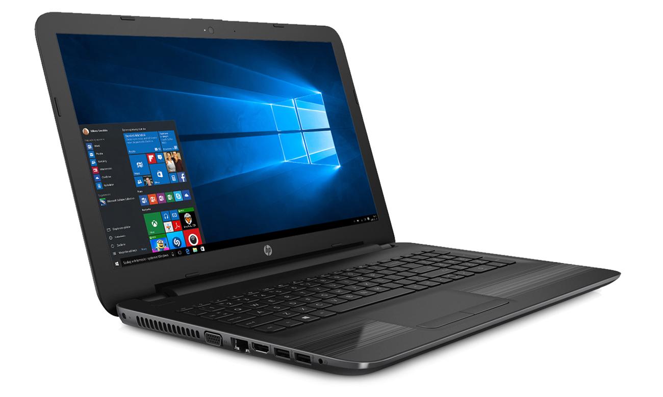HP 250 G5 ekran fullhd efekty wizualne dźwiękowe
