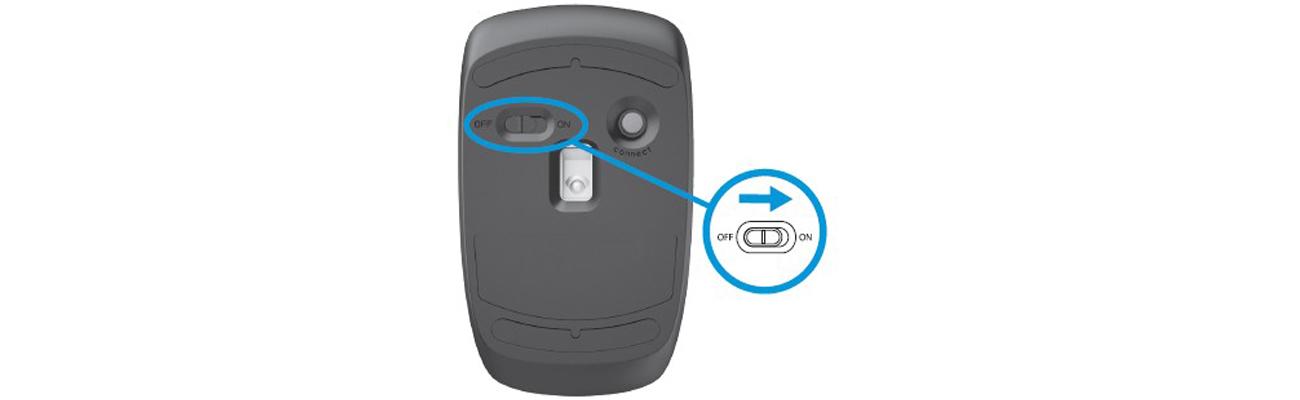Myszka bezprzewodowa HP Z3200 Podłącz i korzystaj