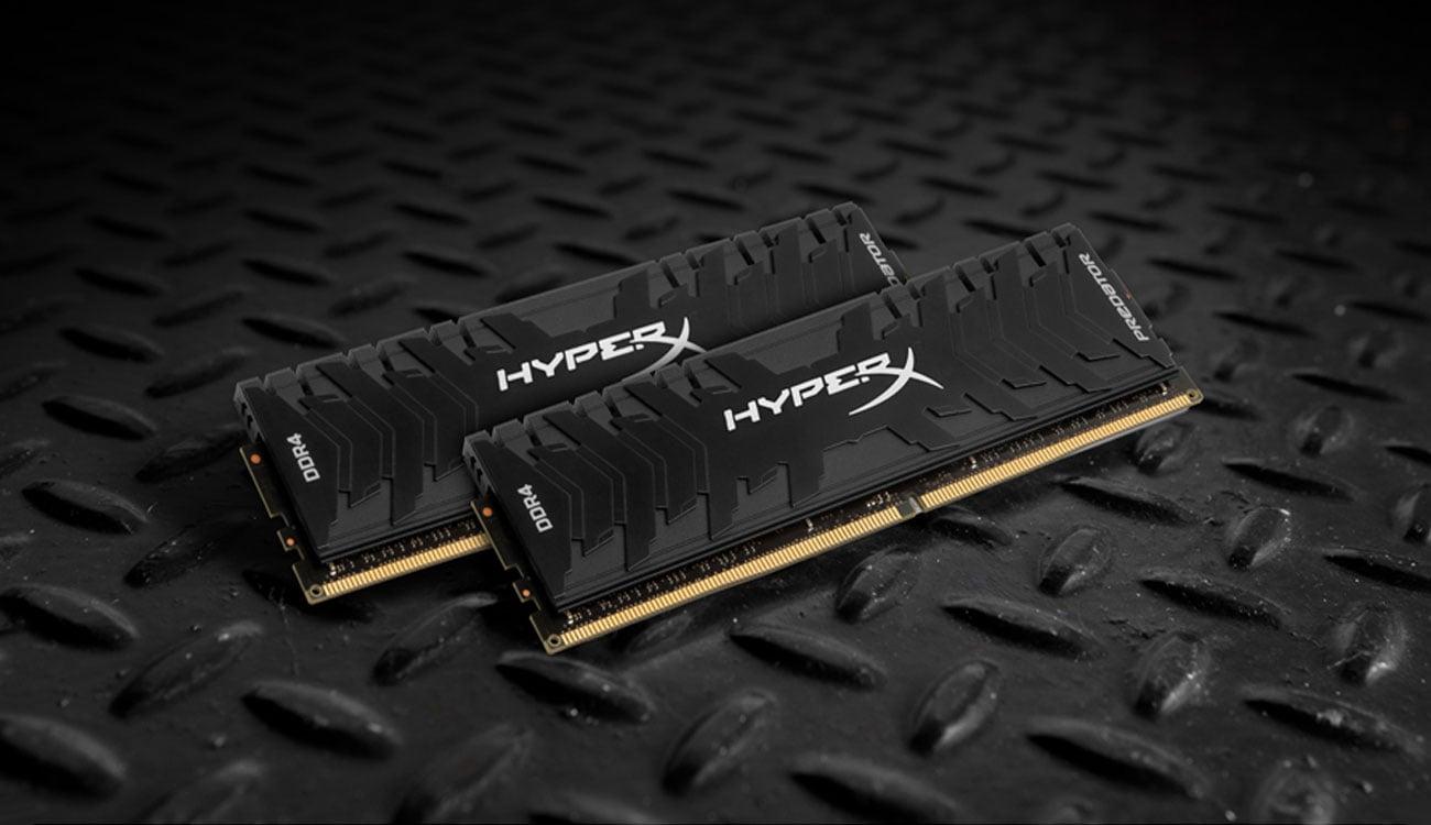 Pamięć RAM DDR4 HyperX Predator CL15 Black Aluminiowy radiator