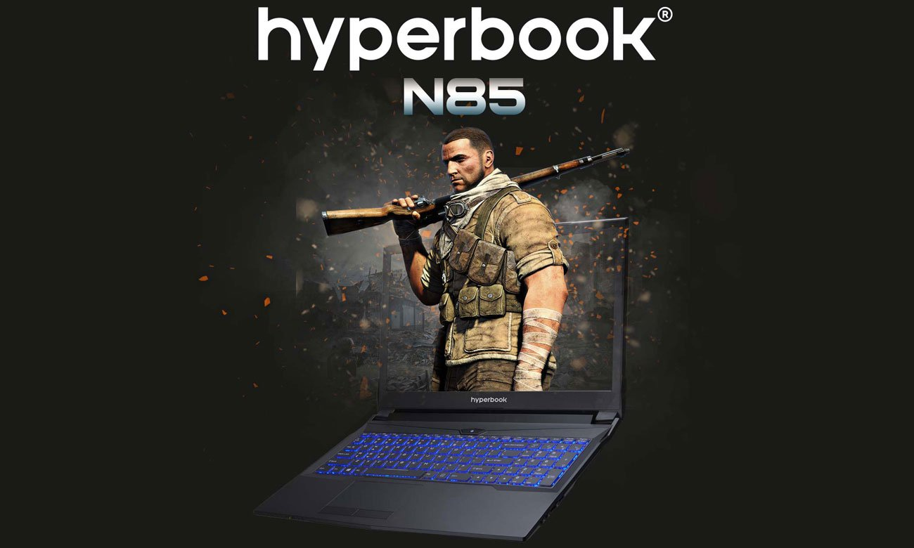 Hyperbook N85 GeForce GTX 1060