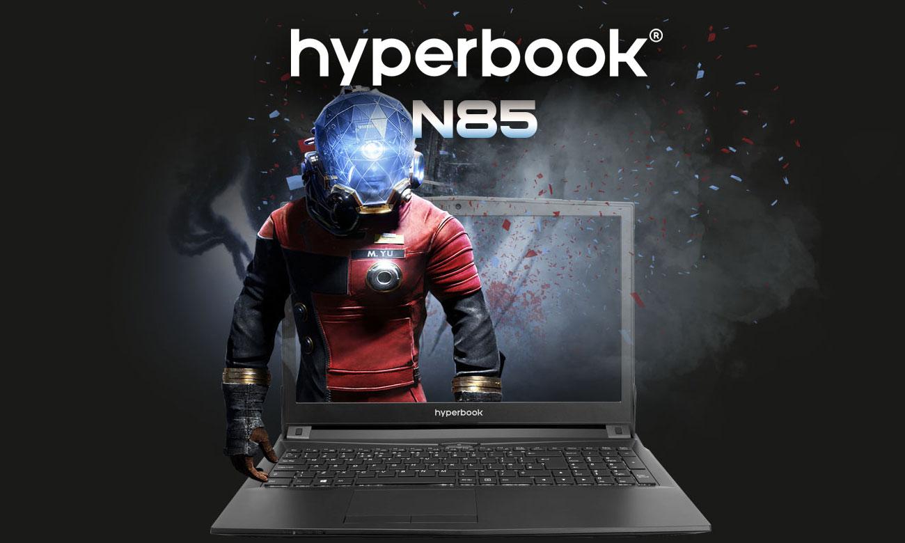 Hyperbook N85 Zalety i technologie