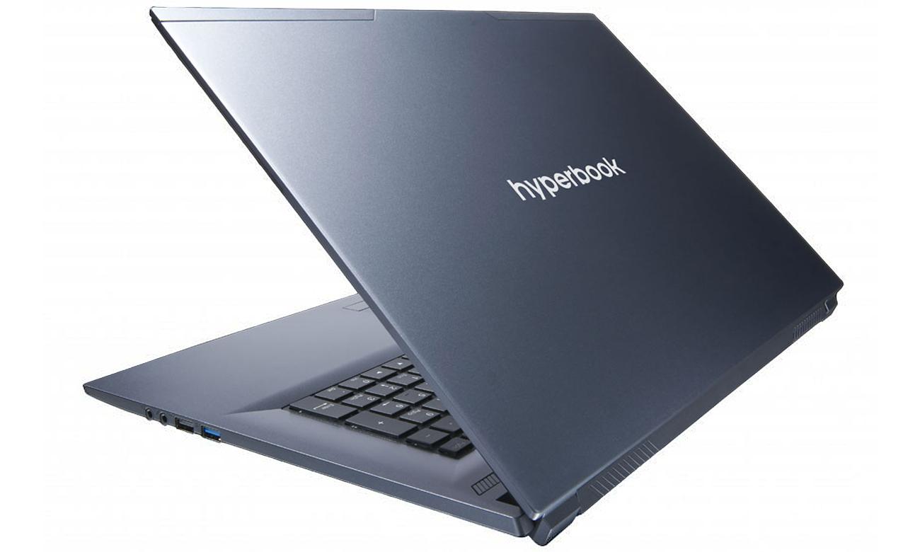 Hyperbook N87 Smukły, lekki, solidny