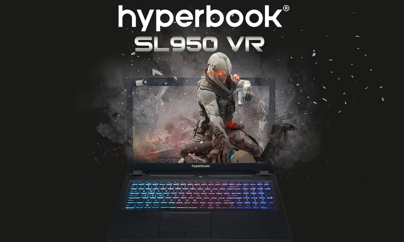 Hyperbook SL950VR GeForce GTX 1060