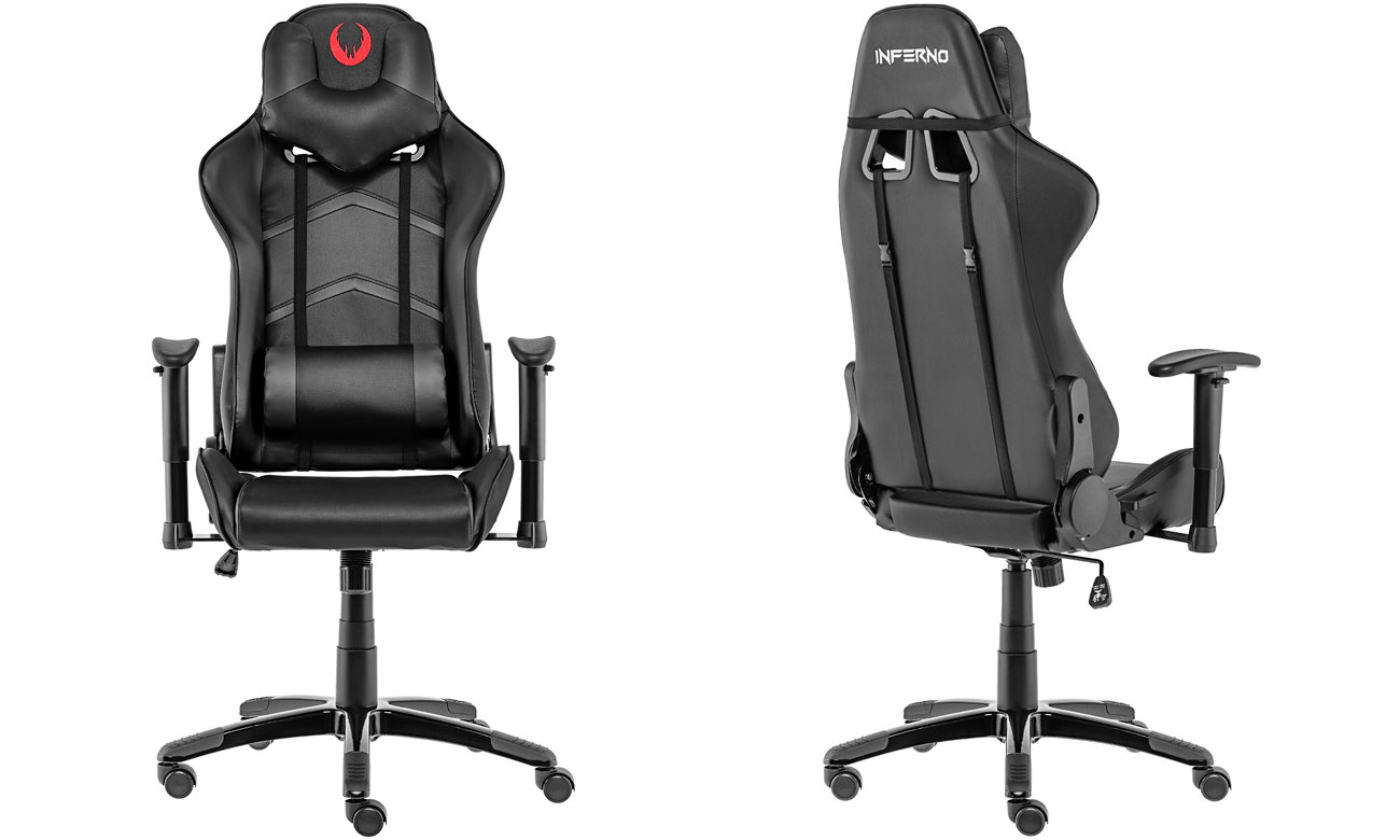 Inferno Titan Gaming Chair czarny