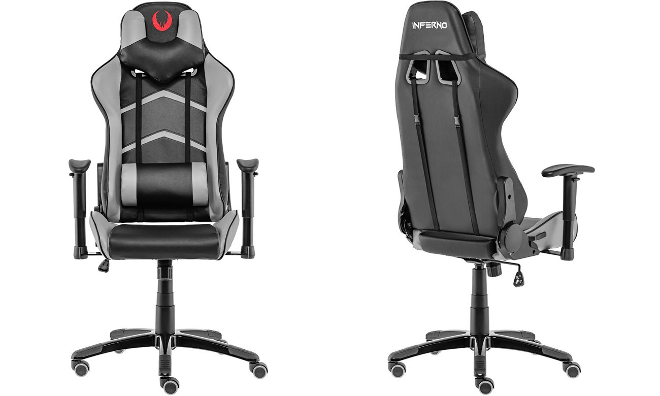 Inferno Titan Gaming Chair czarno-szary