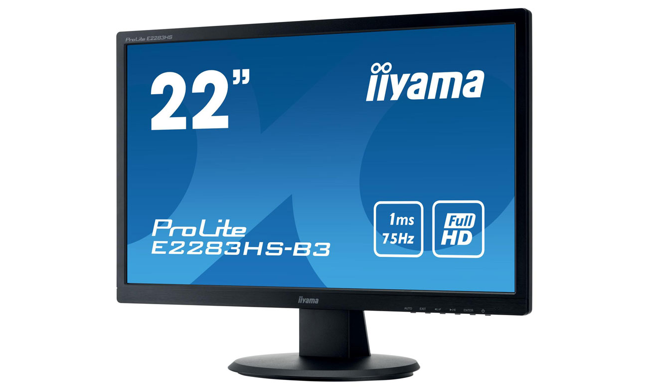 IIYAMA E2283HS-B3 Technologie OverDrive oraz Advanced Contrast Ratio