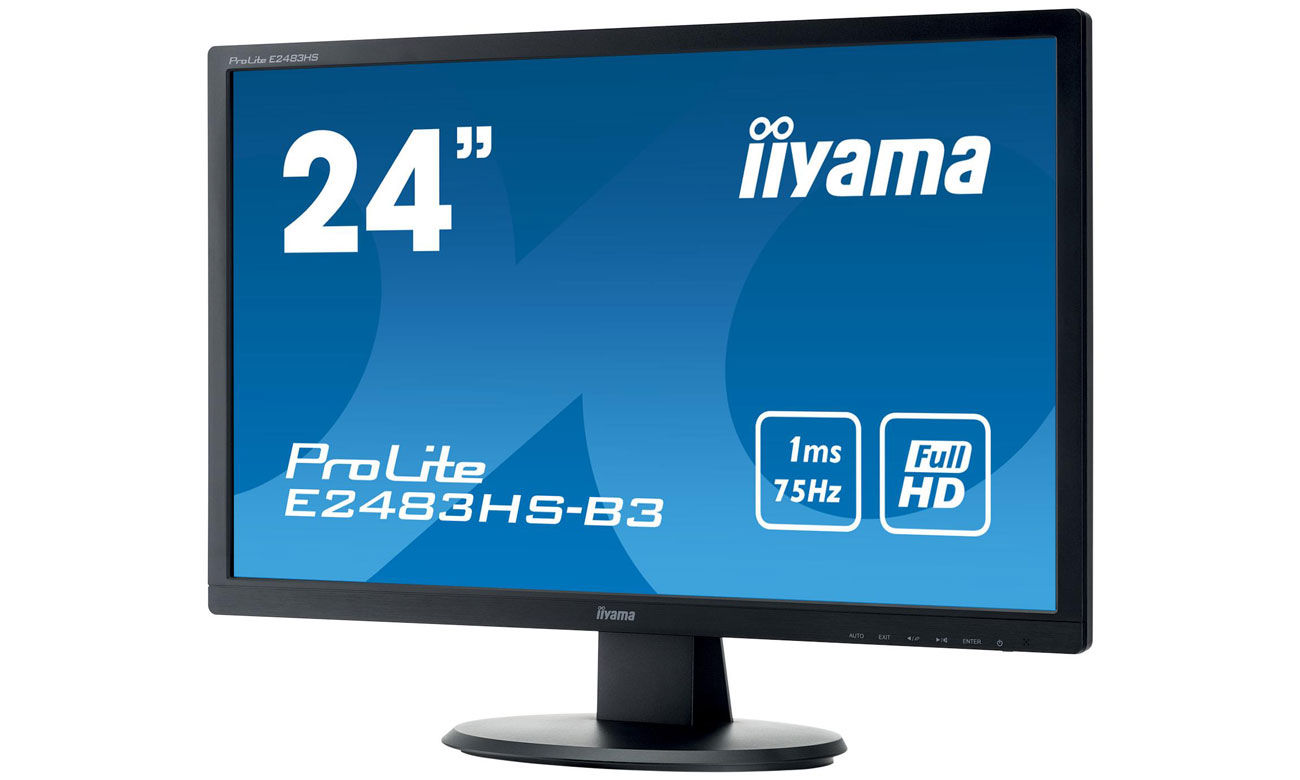 IIYAMA E2483HS-B3 Technologie OverDrive oraz Advanced Contrast Ratio