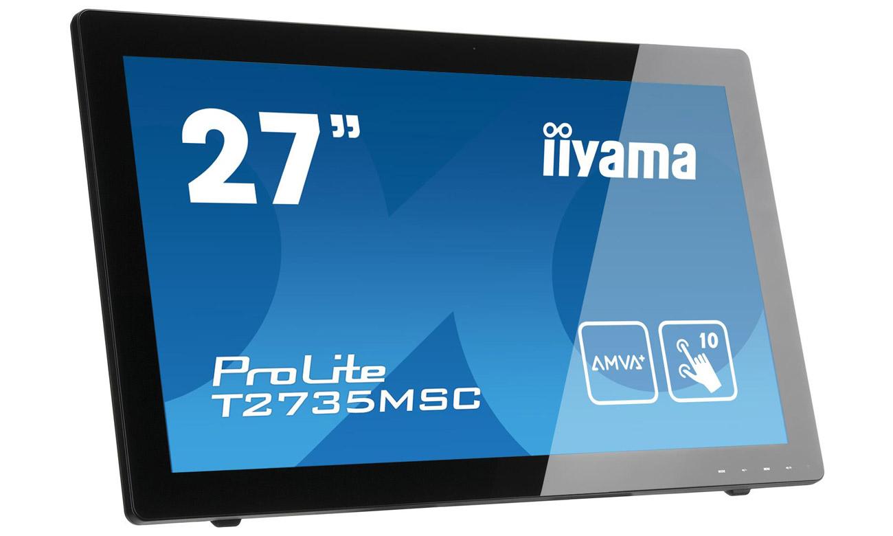 Dotykowy monitor iiyama T2735MSC Solidne rozwiązanie do domu i biura