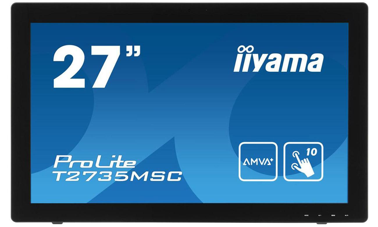 Dotykowy monitor iiyama T2735MSC 10-punktowy multi-touch