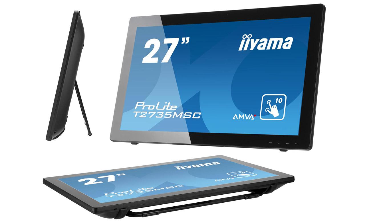 Dotykowy monitor iiyama T2735MSC Matryca AMVA+