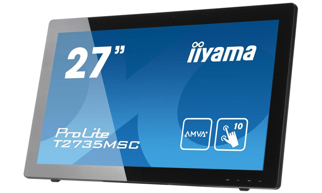 Dotykowy monitor iiyama T2735MSC Odporność na zarysowania