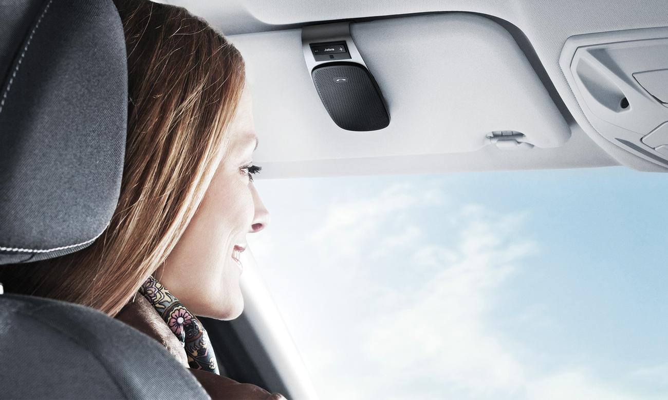 Zestaw głośnomówiący Jabra Drive biały Słuchaj muzyki oraz wskazówek GPS