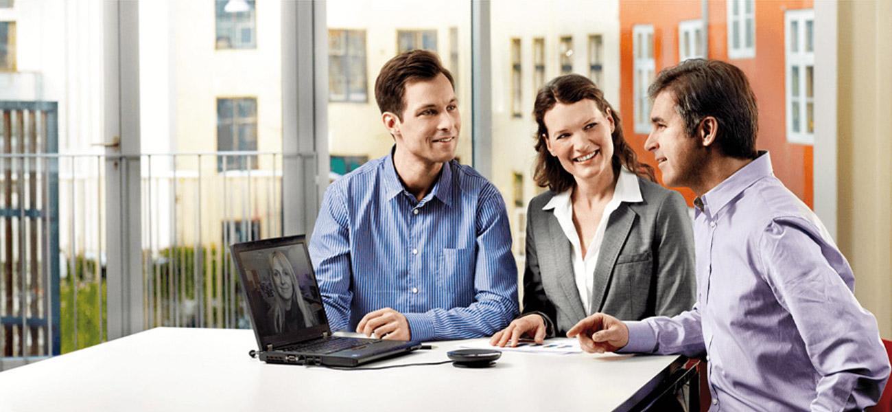 Jabra Zestaw Konferencyjny Plug & Play Speak 410 Certyfikat Skype For Business