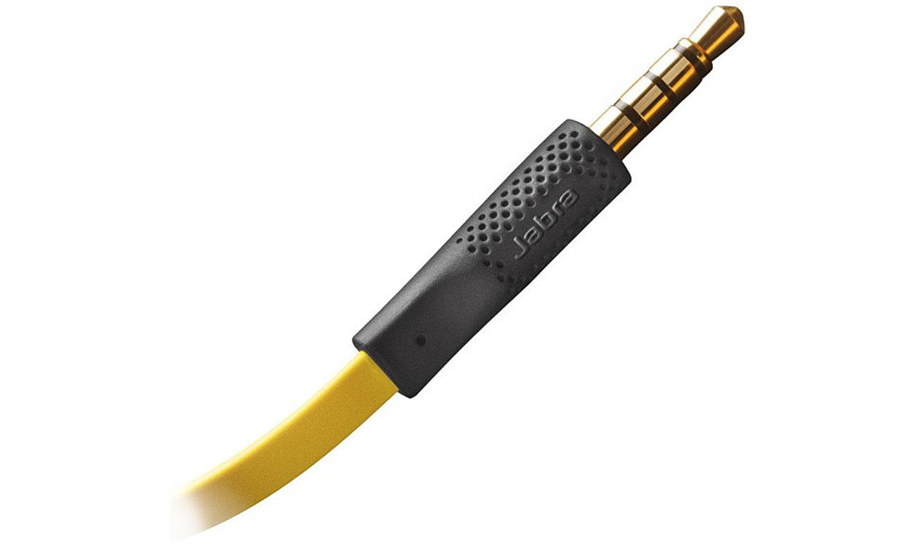 Słuchawki przewodowe Jabra Sport Corded do Apple komfort