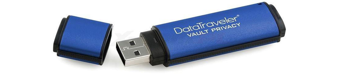 Kingston DataTraveler VP30 AES Encrypted USB 3.0