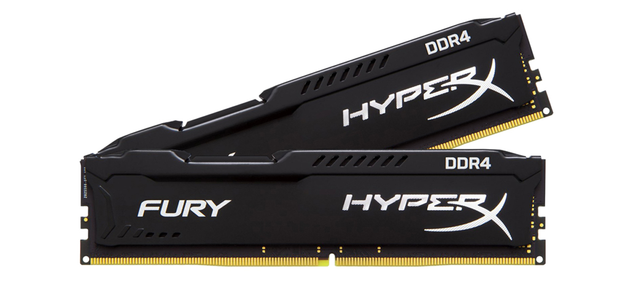 8GB 2666MHz Fury Black CL15 (2x4096)