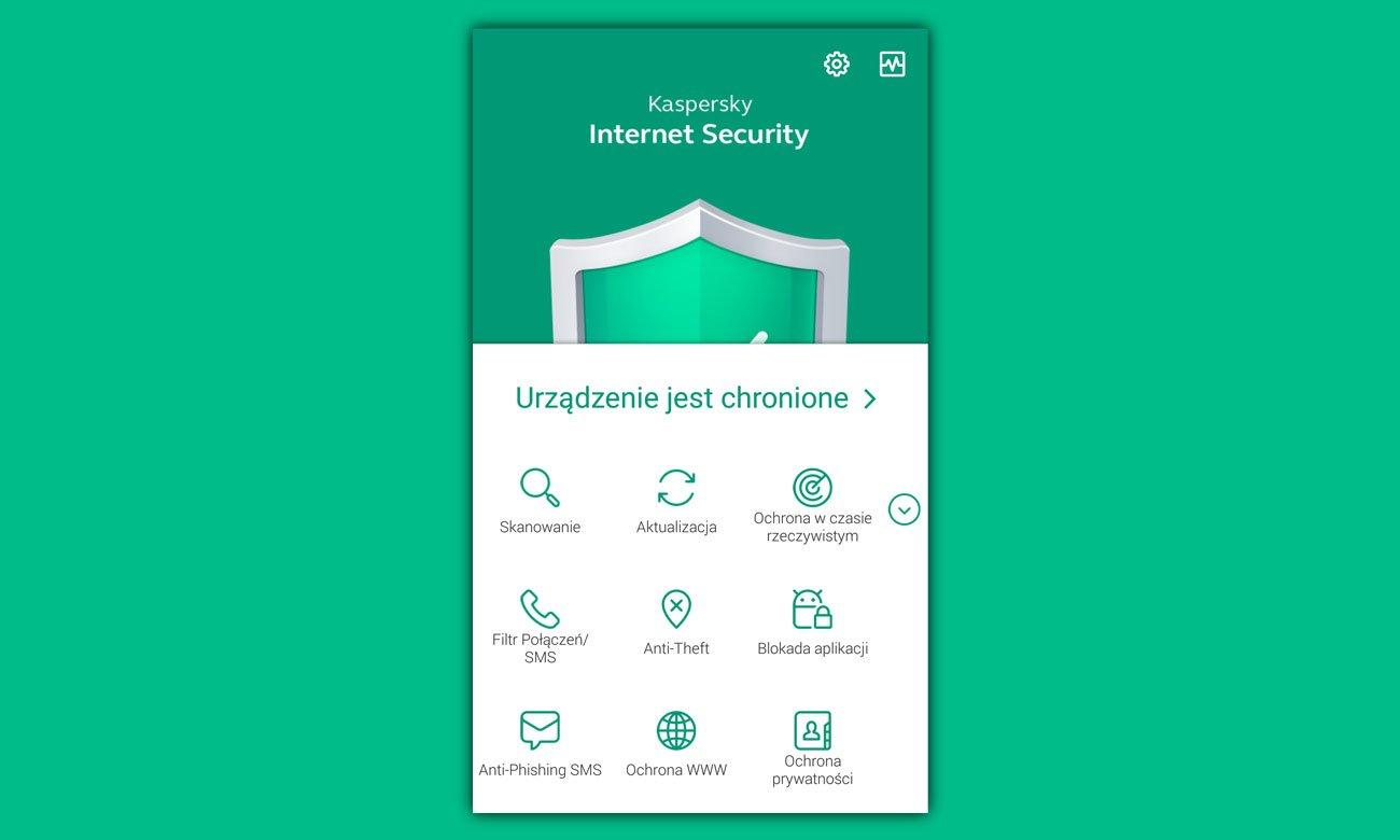 Kaspersky Internet Security Android ESD Najważniejsze narzędzia