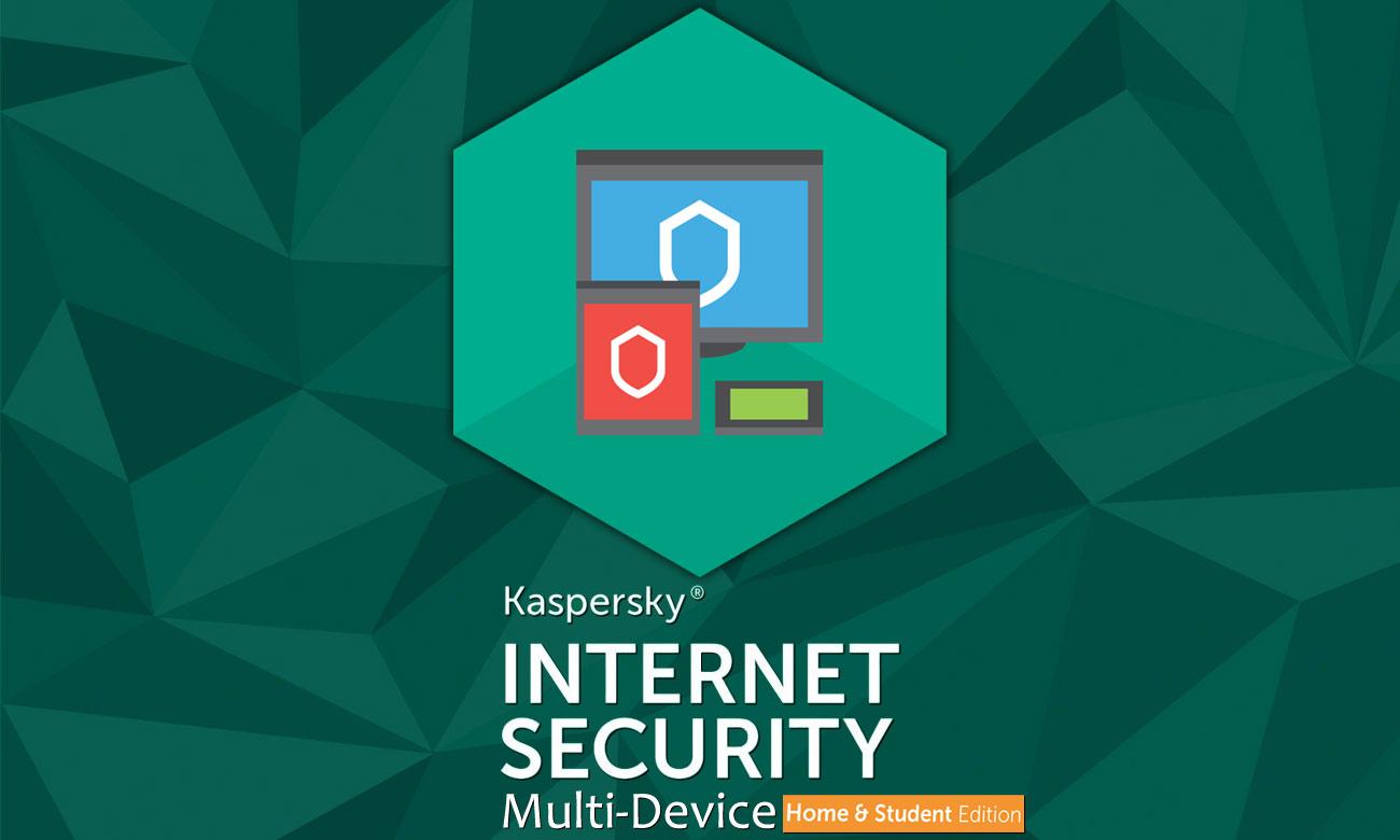 Kaspersky Internet Security Home&Student Skuteczna ochrona w sieci