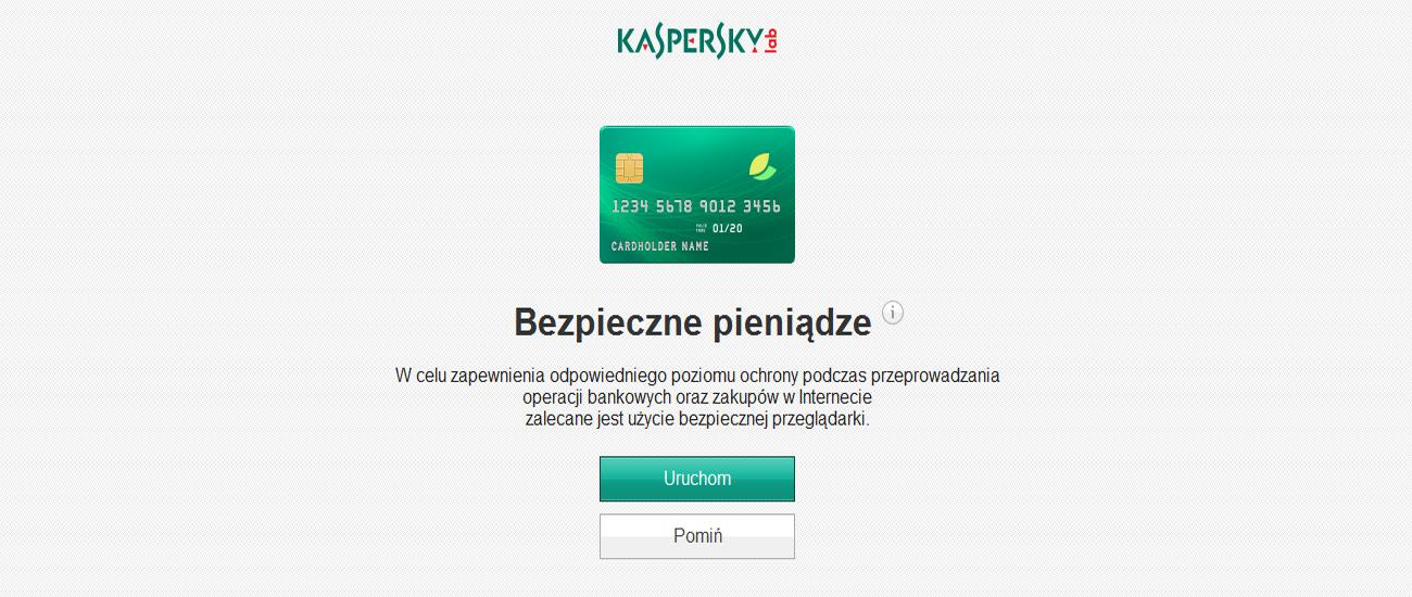 Kaspersky Internet Security Multi-Device PL Box Technologia Bezpieczne pieniądze