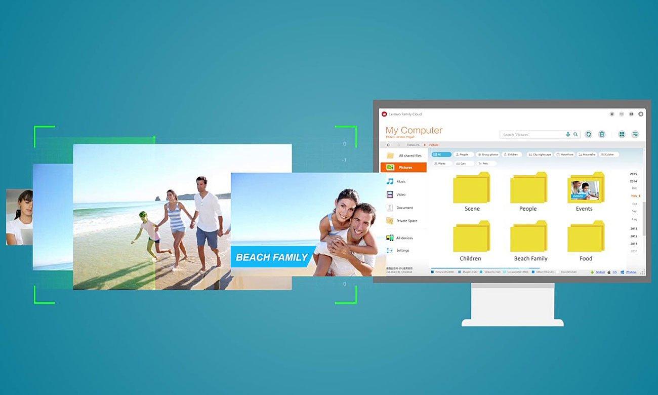 Desktop Lenovo Ideacentre 510 Aplikacja Lenovo Family Cloud
