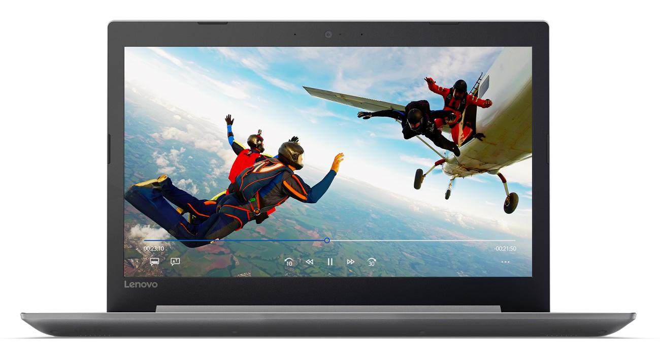 Lenovo Ideapad 320 Doskonały i wyraźny obraz