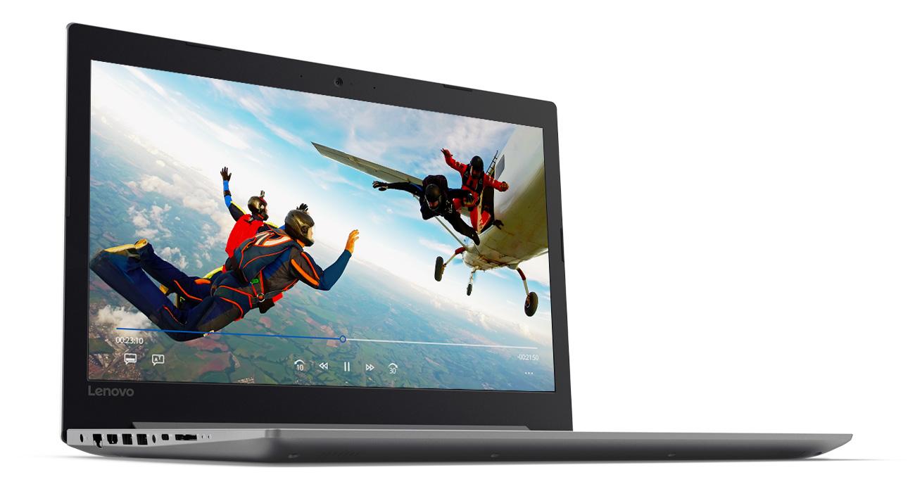 Lenovo Ideapad 320 Czystość dźwięku przy każdej głośności